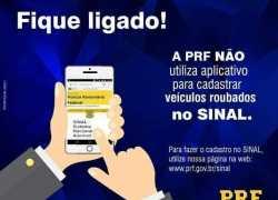 PRF alerta existência de aplicativos falsos