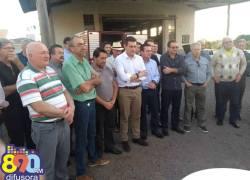 Assinada ordem de serviço para pavimentação da Rua Nelson Carraro em Bento
