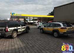 Bandidos atacam posto bancário em Farroupilha