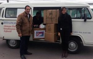 Meber Metais destina doações coletadas na Campanha do Agasalho 2018 - Crédito Divulgação Meber