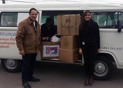 Meber Metais destina doações coletadas na Campanha do Agasalho 2018