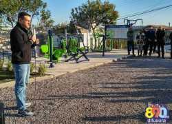 Academias ao ar livre são inauguradas em Bento