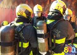 Bombeiros realizam treinamento em Bento