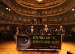 Campanha Vote Consciente da OAB/RS propõe o planejamento responsável do voto