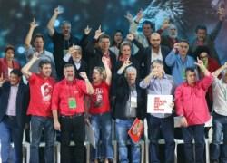 PT oficializa Lula como candidato à presidência