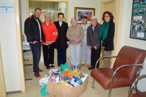 CDL-BG faz entrega de donativos ao Lar do Ancião