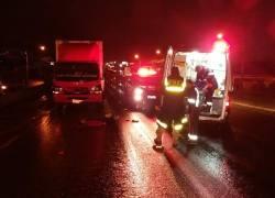 Mulher morre vítima de atropelamento na BR-116 em Vacaria