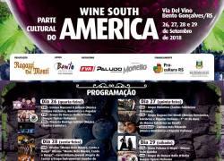 Paralelo à Feira Internacional de Vinhos, espetáculos serão realizados na Via Del Vino