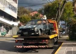 Veículo furtado é recuperado pela Brigada Militar no São Francisco em Bento