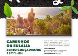 Sesc Bento Gonçalves propõe caminhada no Caminhos da Eulália