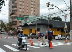 Mobilidade Urbana trababalha na manutenção e limpeza de locais públicos em Bento