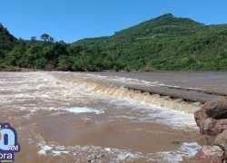 Ponte que liga Bento a Cotiporã segue interrompida