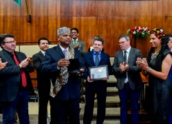 Movimento Negro Raízes, de Bento, é agraciado com o Prêmio Zumbi dos Palmares