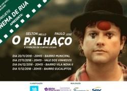 Cinema de Rua divulga calendário de datas em Bento