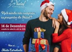 Noite Estrelada oportunizará momento especial para compras natalinas em Carlos Barbosa
