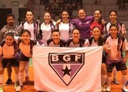 BGF conquista título no citadino de Futsal Feminino