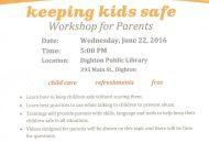 Keeping Kids Safe Flyer
