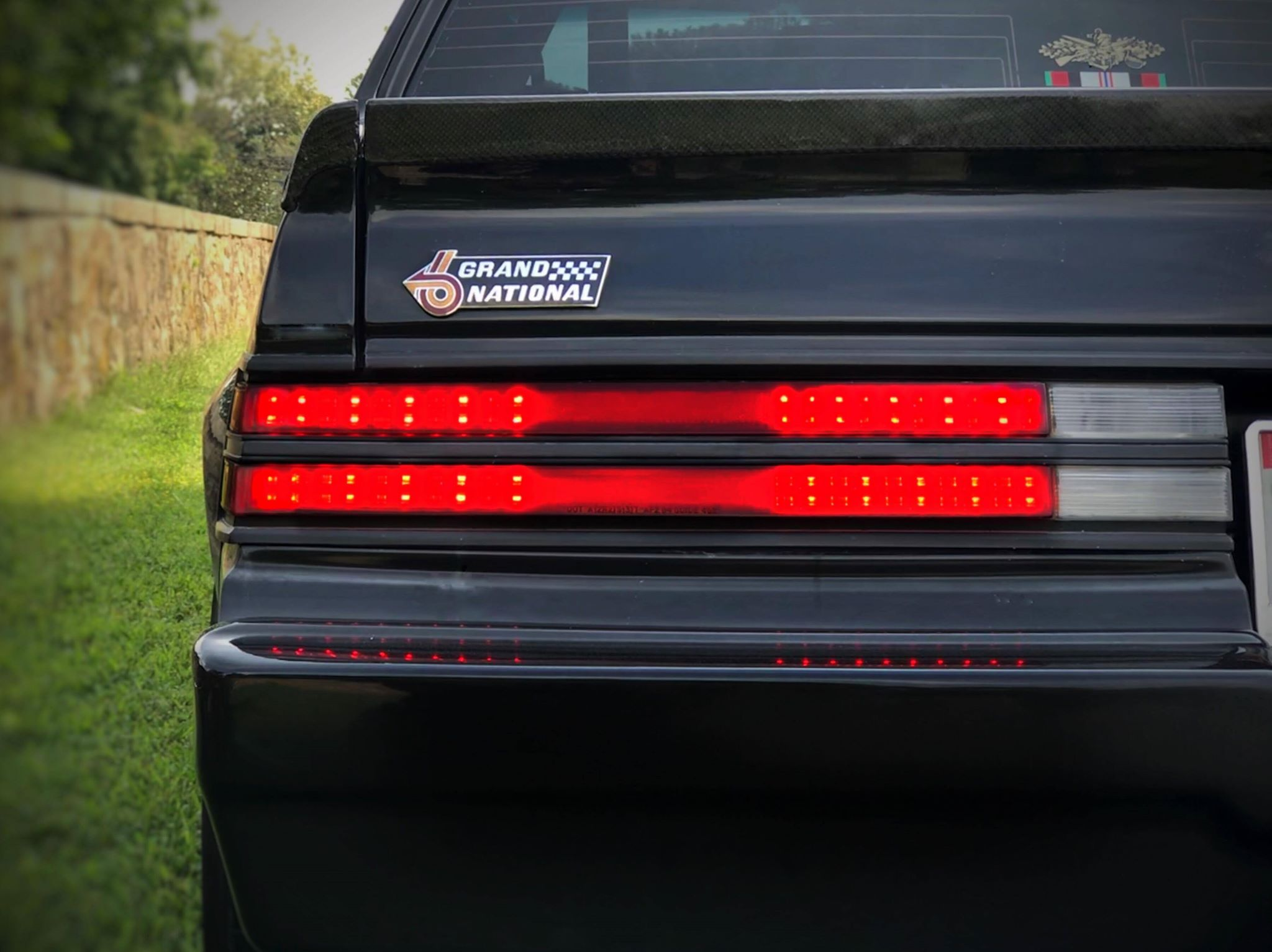 Led Regal 1983 1987 Buick Regal Grand National Digital Tail Light Panels