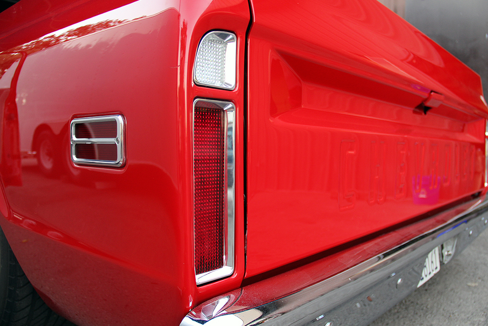 1967-72 GM Truck Billet LED Tail Lights with Reverse DIGI-TAILS