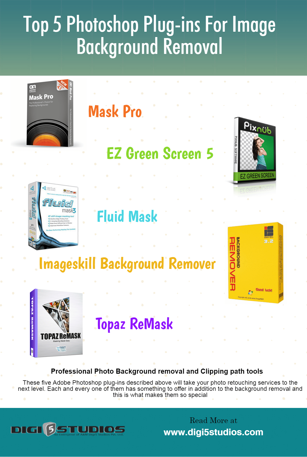 Photoshop 5 Top 5 Photoshop Plug Ins For Photo Background Removal