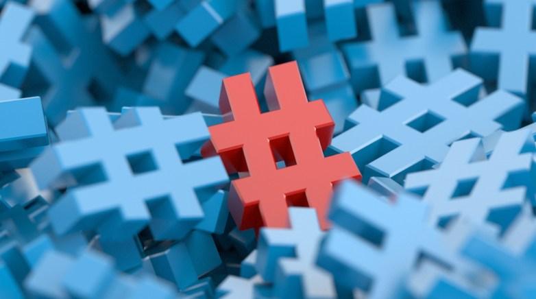 Infinite 3d hashtags.