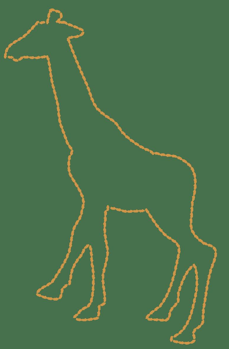 Giraffe Printable Template Costumepartyrun