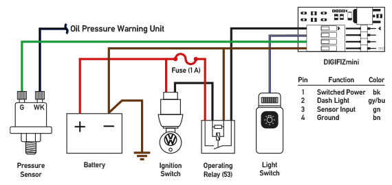 oil safety switch wiring diagram