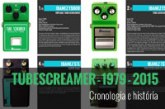 Ibanez Tube Screamer – Modelos de 1979 a 2015