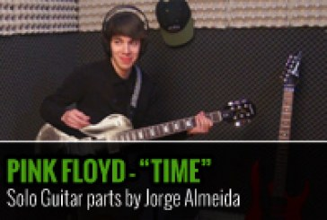 PINK FLOYD – TIME – SOLO GUITAR PARTS BY JORGE ALMEIDA