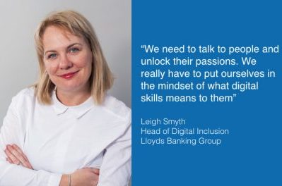 Interview: Leigh Smyth, Head of Digital Inclusion, Lloyds Banking Group