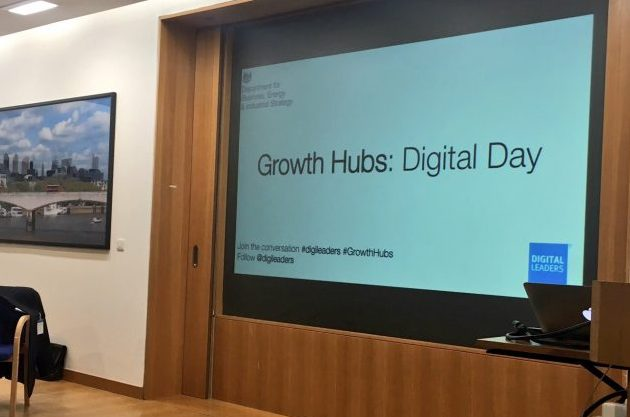 BEIS Growth Hubs: Digital Day
