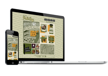 Web Design and Development Work Examples