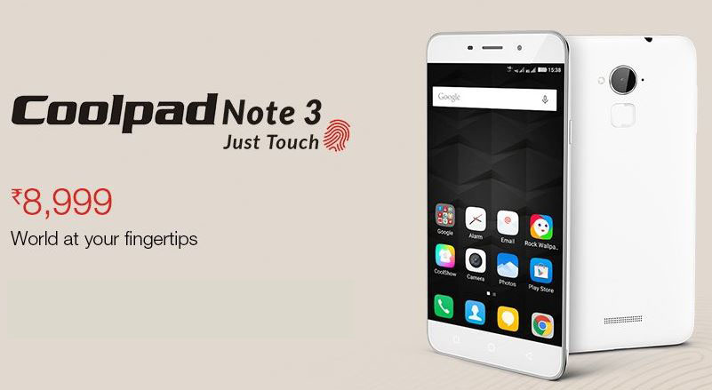 Coolpad Note 3 Specs Price