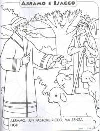 DISEGNI BIBLICI DA COLORARE