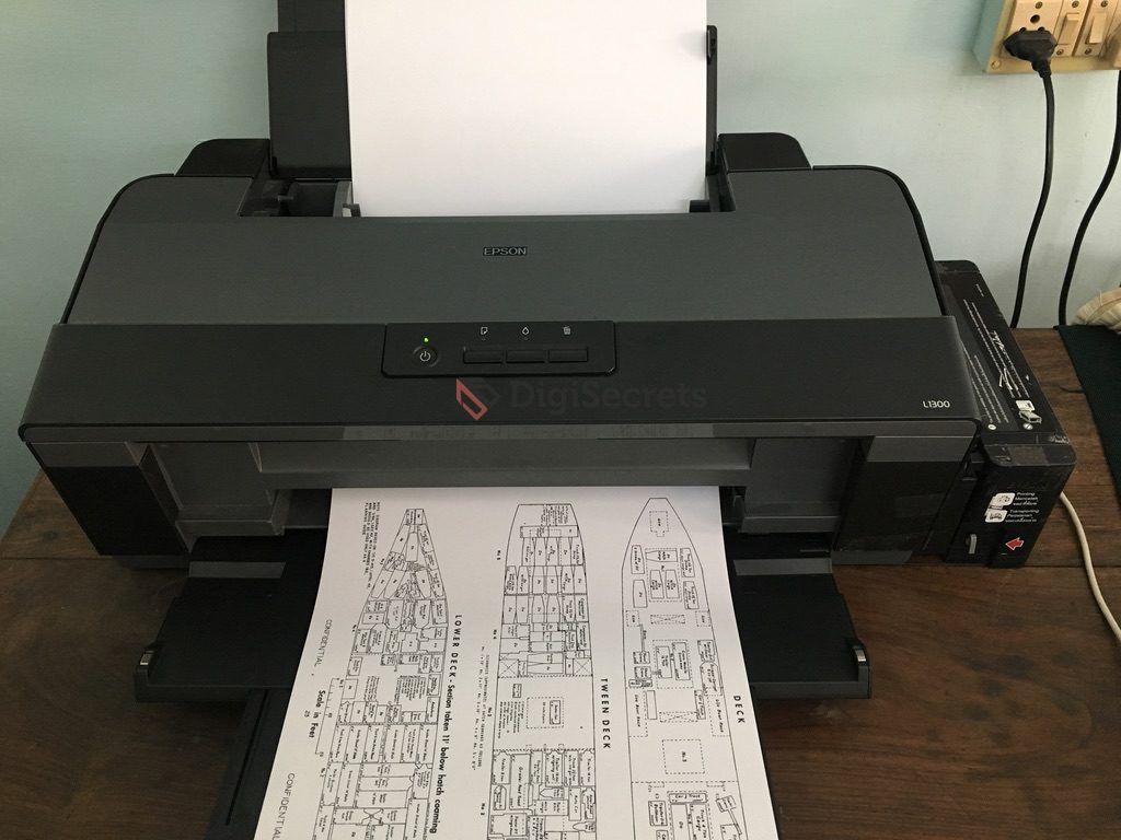 A3 Photo Printing Epson L1300 A3 Color Ink Tank Printer Review Digisecrets