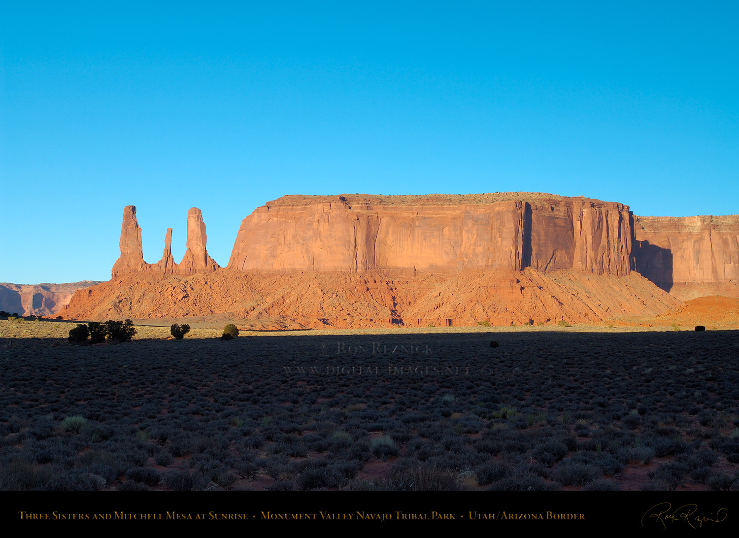 Mesa 3 Mesas And Buttes Of Monument Valley