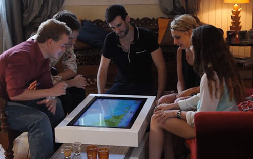table basse connectée 1