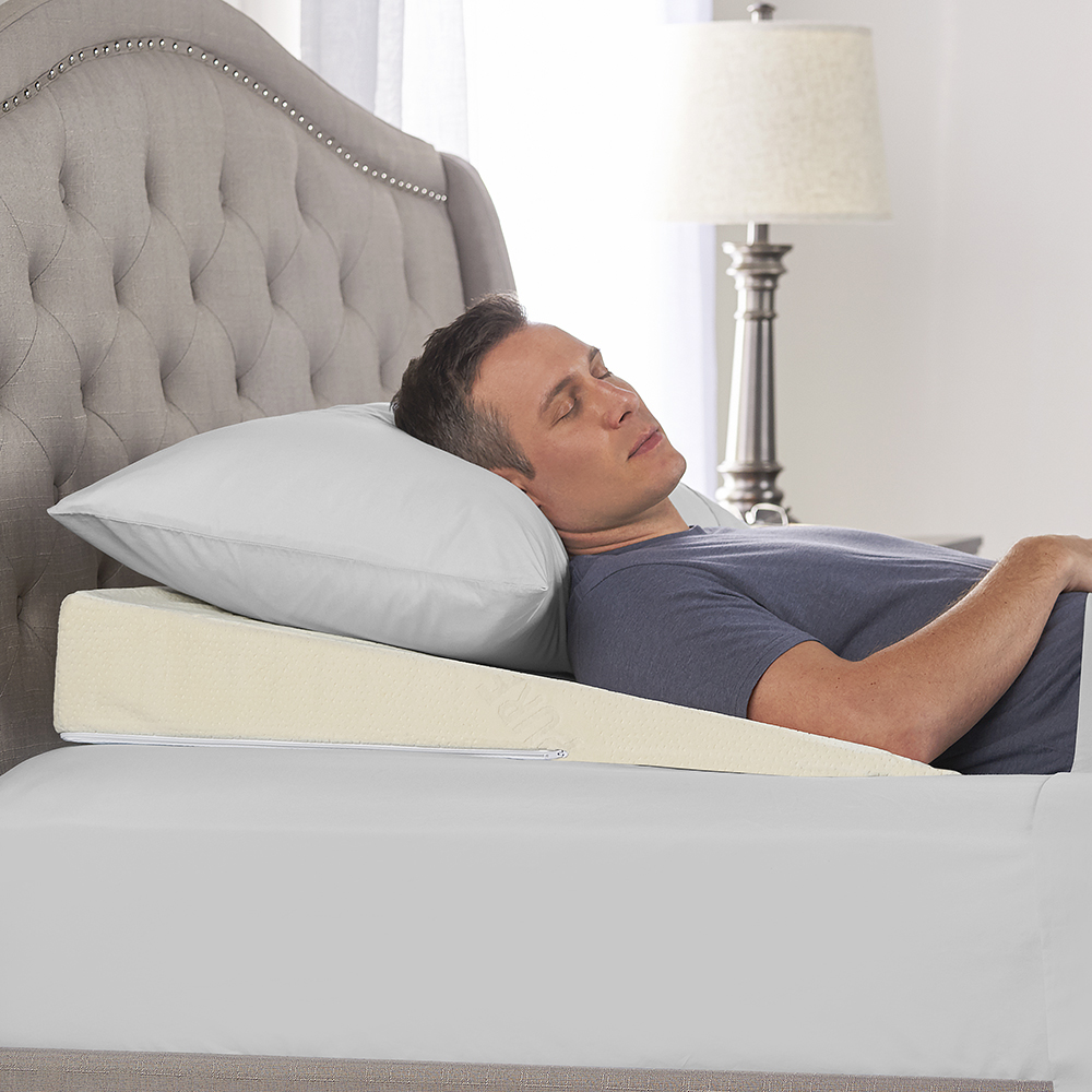 Angled Pillow For Acid Reflux The Sleep Improving Pillow Wedge