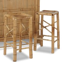 Additional Bamboo Bar Stools - Hammacher Schlemmer