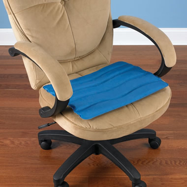 The Cooling Gel Seat Cushion Hammacher Schlemmer