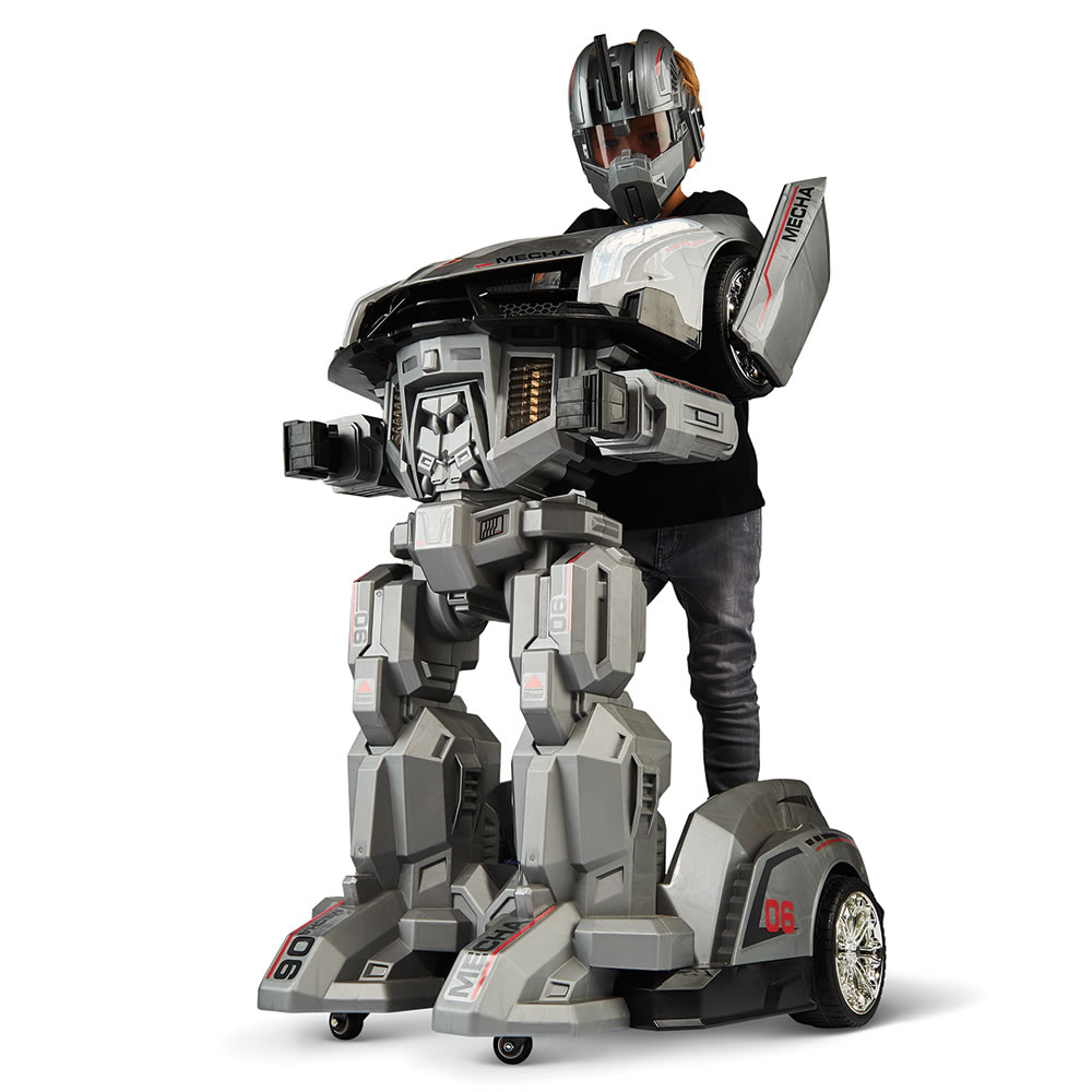 Children Robot The Ride On Robotic Armor