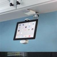 The Under-Cabinet iPad Dock - Hammacher Schlemmer