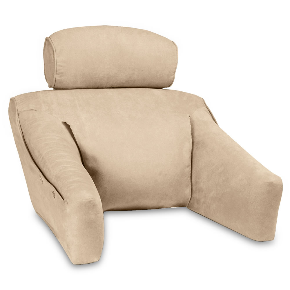 Recliner Pillow The Superior Comfort Bed Lounger