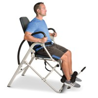 The Easiest Use Inversion Chair - Hammacher Schlemmer