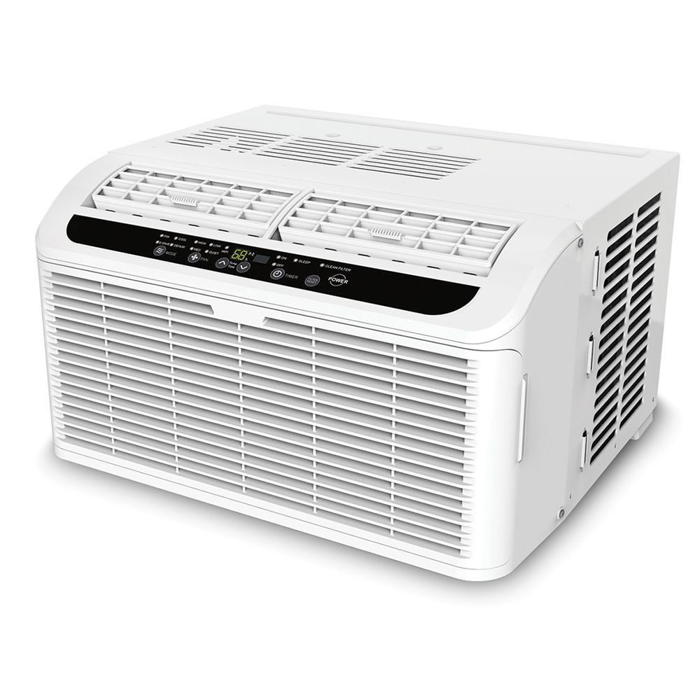 Vertical Window Air Conditioner Canada The Quiet Window Air Conditioner Hammacher Schlemmer