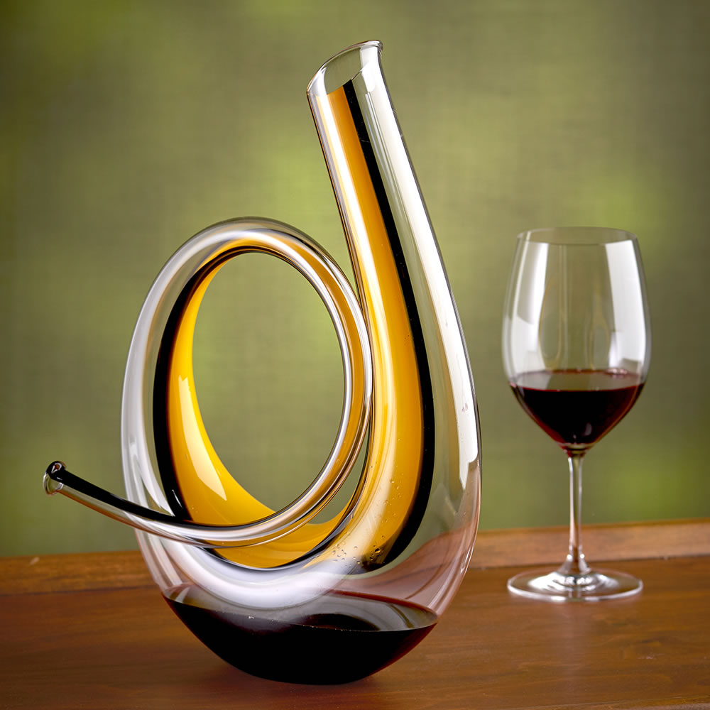 Decanter Wine Glas The Austrian Horn Decanter