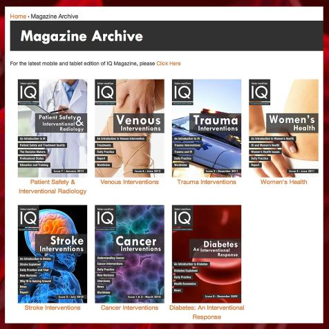 Digital Magazine Library, Intervention IQ