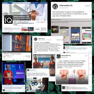 Digital Magazine Promotion Via Social Media Channels, Intervention IQ