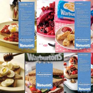 Healthy Eating and Educational Content for Social Media Communities, Warburtons