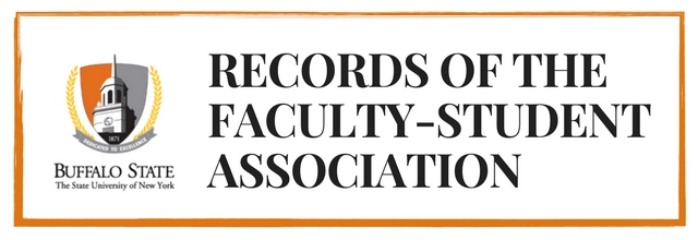 First Organizational Meeting Minutes; Faculty-Student Association